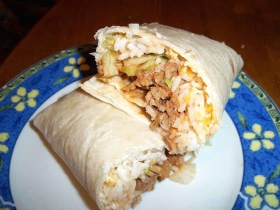 Beef Chipotle Burritos