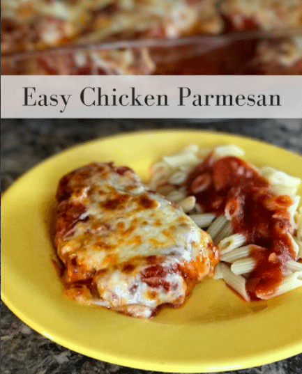 Chicken Parmesan – Done In About An Hour