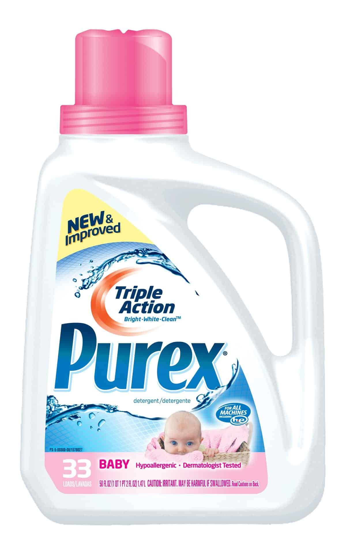 Giveaway – 2 Coupons For FREE Purex Baby Laundry Detergent