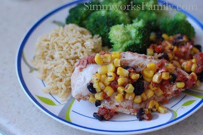 Crockpot Salsa Chicken 3