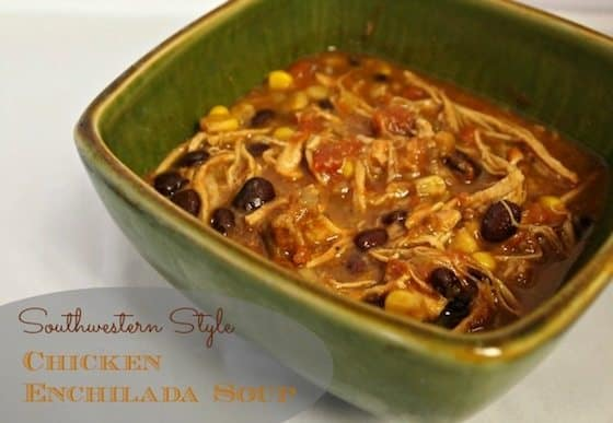 Southwestern Style Chicken Tortilla Soup