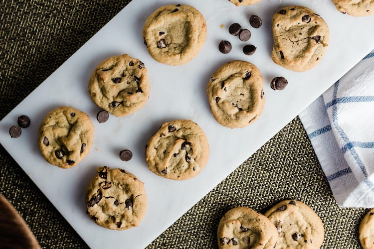 Chocolate Chip Cookie Recipe Without Brown Sugar - Craving cookies but you don't have brown sugar? You can still make this Chocolate Chip Cookie Recipe Without Brown Sugar cookie!