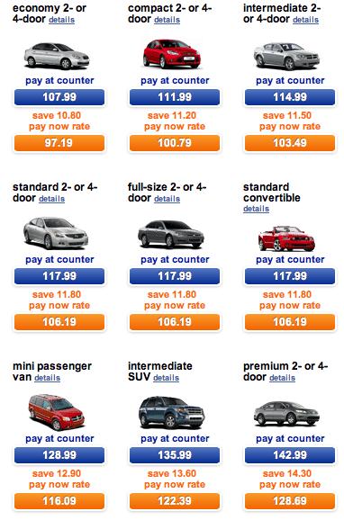 Cheap Car Rental Coupon Car Rental Discounts - Saving You Dinero