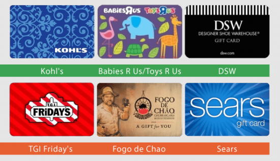 10 off gift cards  easy way to save extra money