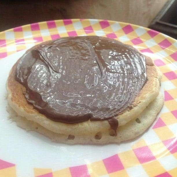 Nutella Pancakes - Saving You Dinero