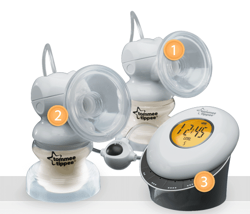tommee tippee breast pump electric instructions