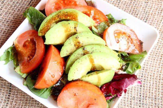 Tomato avacado salad