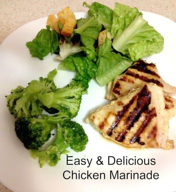 Easy & Delicious Chicken Marinade - Saving You Dinero