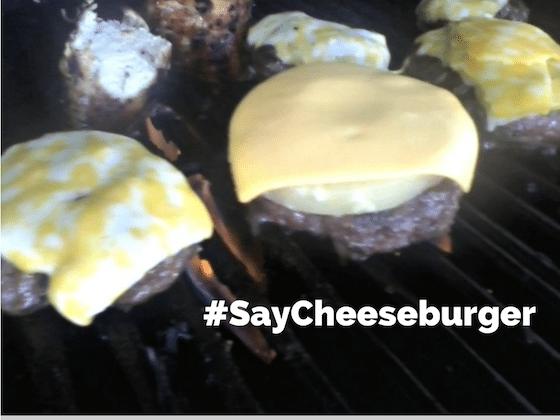 #SayCheeseburger