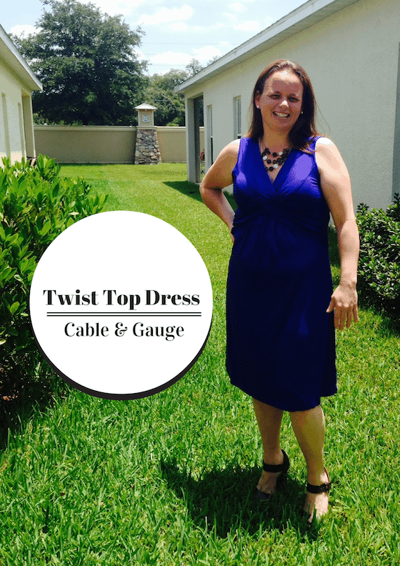 Twist Top Dress