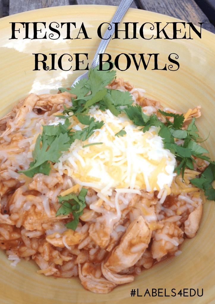 Fiest Chicken RIce Bowls
