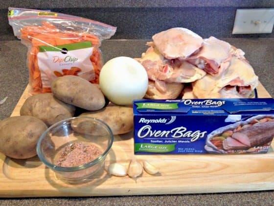 chicken potato carrot bake recipe