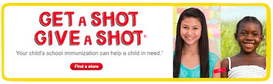 give a shot