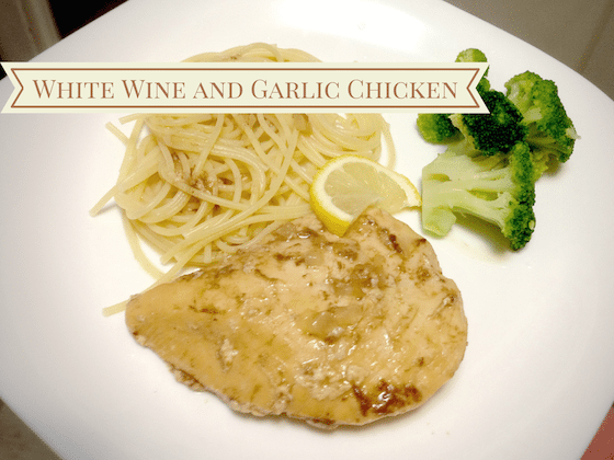 White Wine and Garlic Chicken