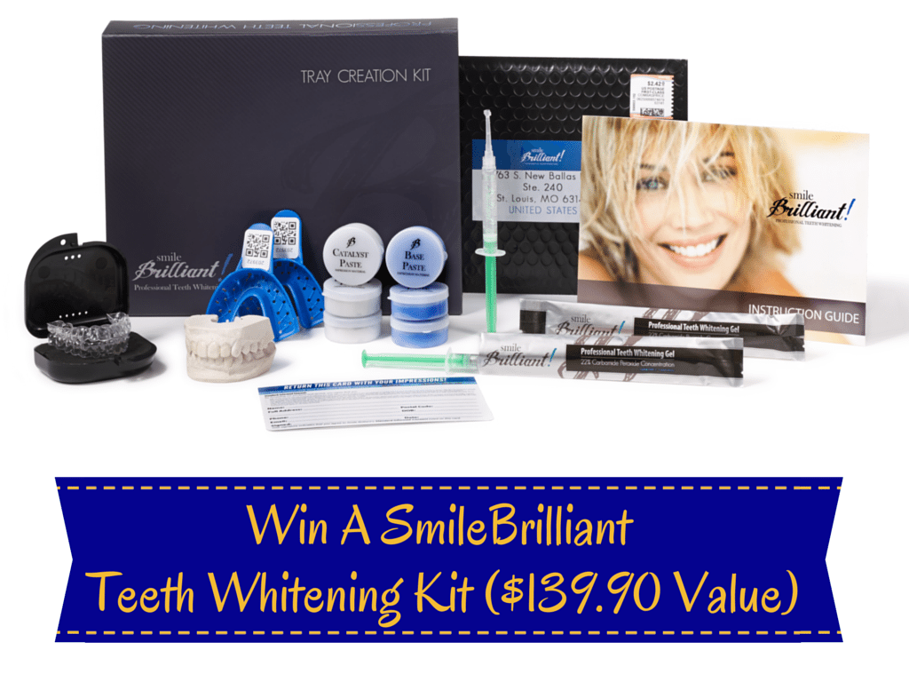 Win A SmileBrilliant Teeth Whitening Kit