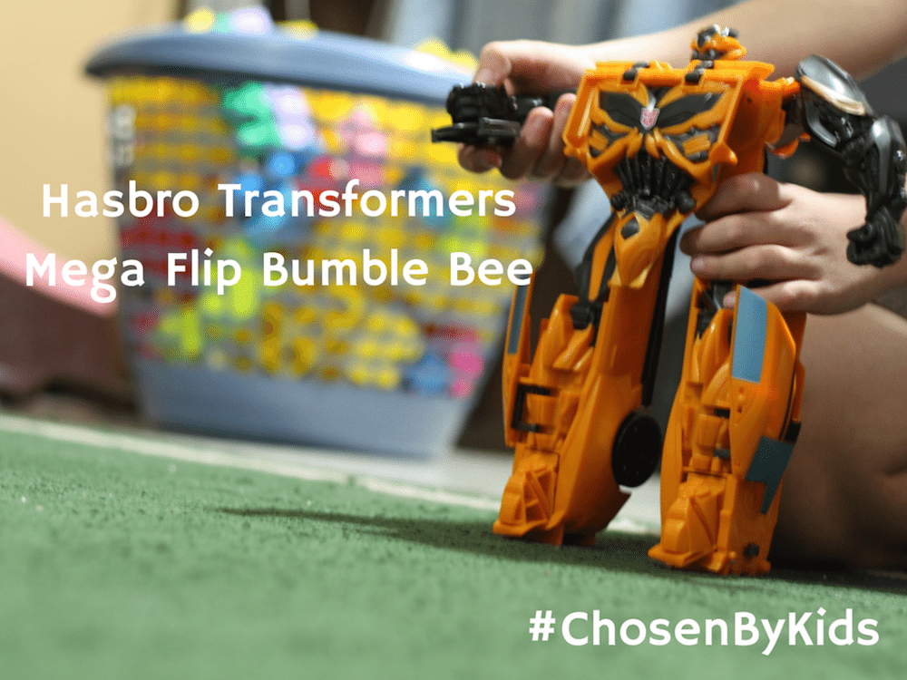 Hasbro Transformers Mega Flip Bumble Bee