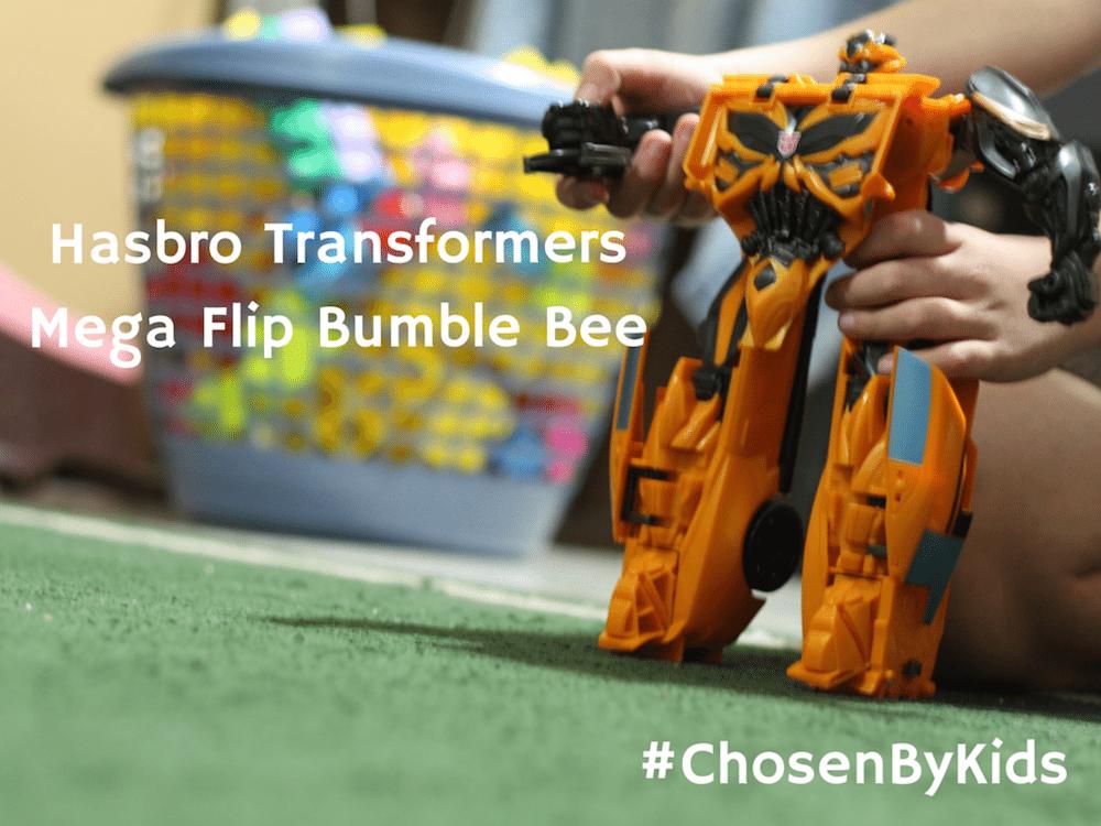 Hasbro Transformers Mega Flip Bumble Bee