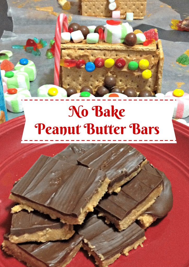 how to make no bake peanut butter bars