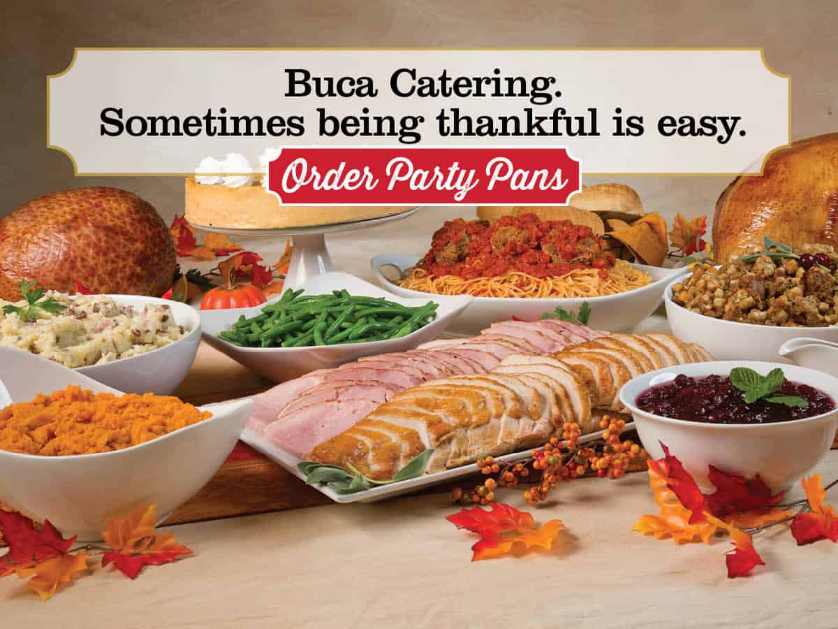 Enjoy A Hassle Free Thanksgiving With Buca Di Beppo Saving You Dinero