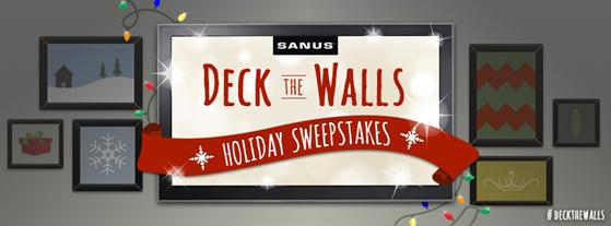 Giveaway Deckthewalls With Sanus Saving You Dinero