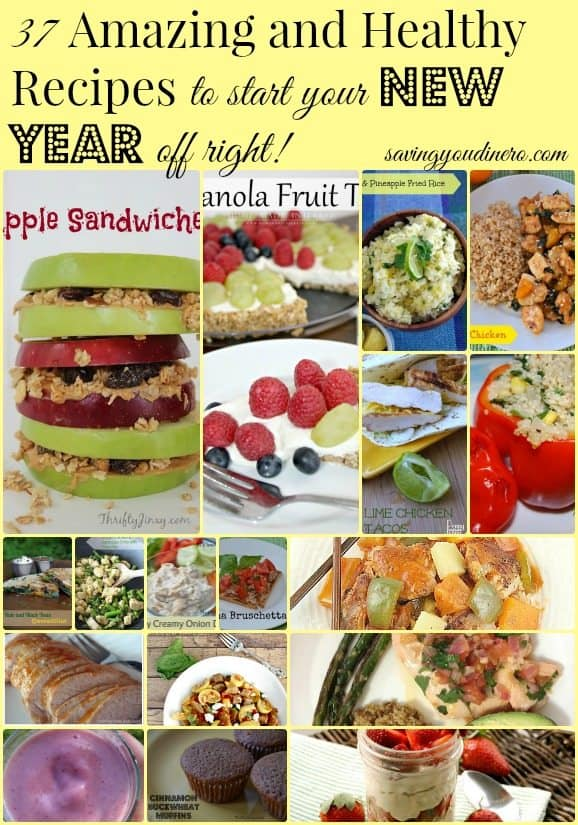 healthy new years recipes