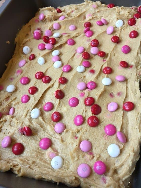 Valentine Blondie Bake