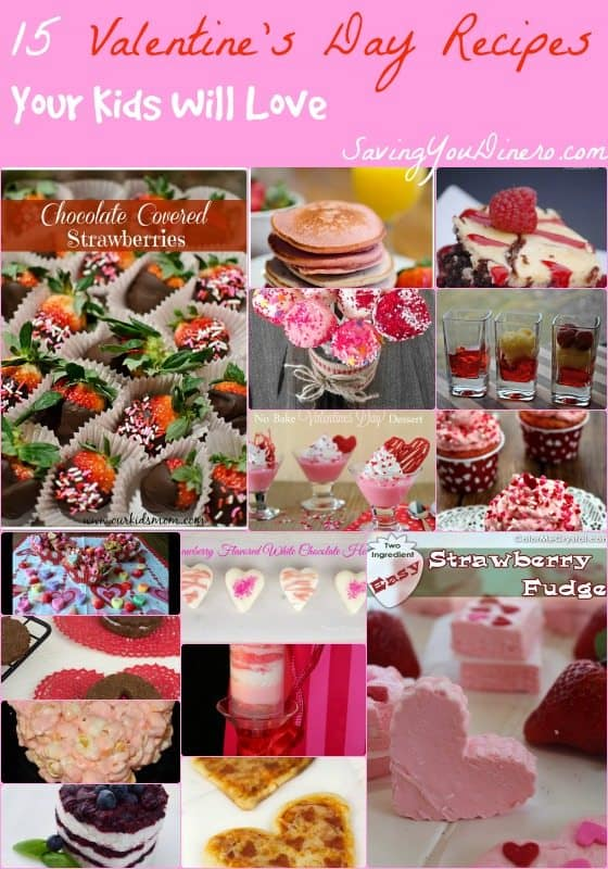 15 Valentine's Day Recipes Your Kids Will Love