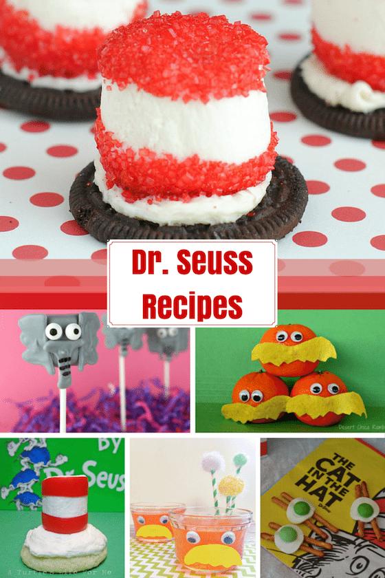 Dr Seuss Recipes