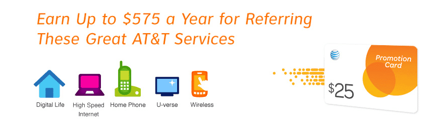 $25 Free From AT&T (New Customers) - Saving You Dinero