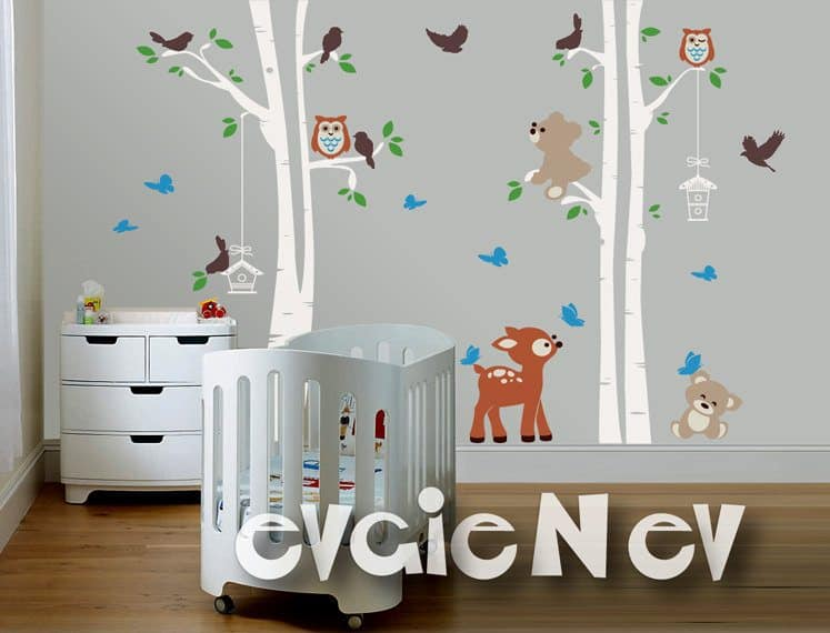 Forrest Friends Wall Stickers