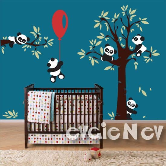 Panda Wall Decals image