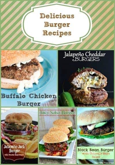 15 Delicious Burger Recipes