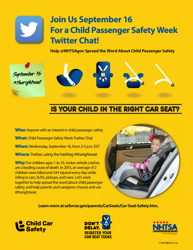 Car Seat Safety Tips Twitter Party Saving You Dinero