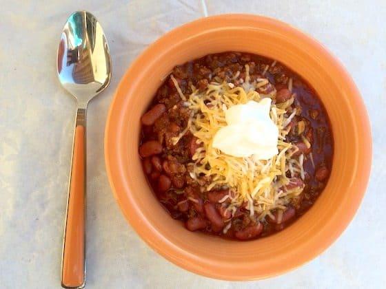 Family Favorite Chili Recipe