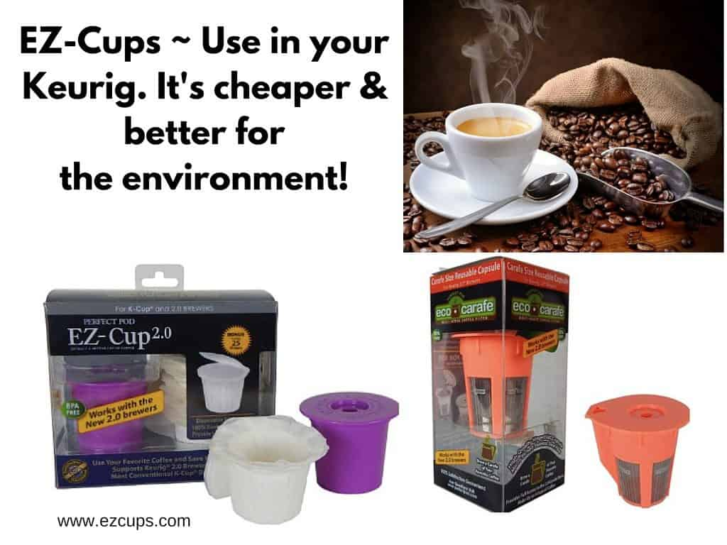 can you use k cups without machine