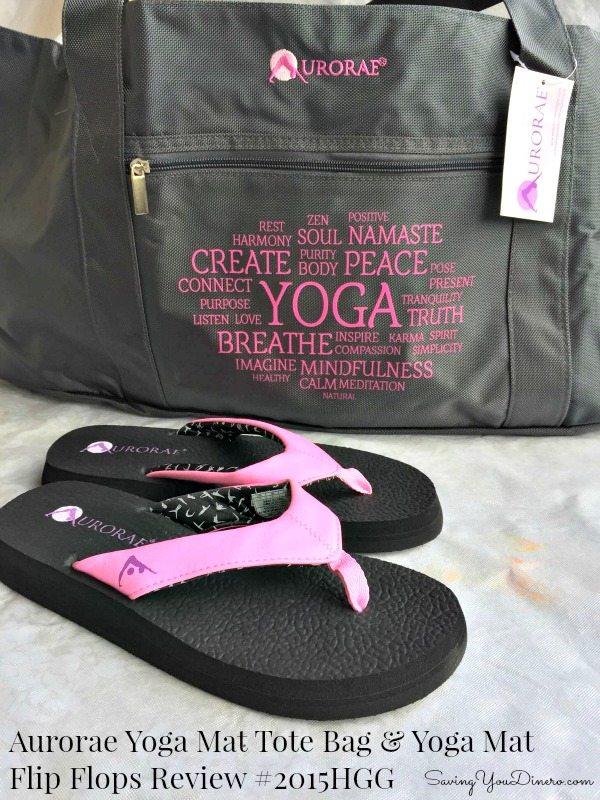 Aurorae Yoga Mat Tote Bag Amp Yoga Mat Flip Flops Review