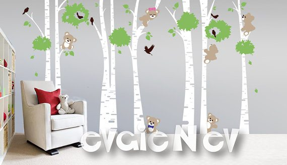 Awesome Bears Wall Decals