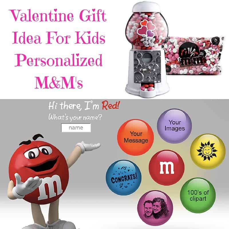 Valentine Gift Idea For Kids Personalized M M S Saving You Dinero