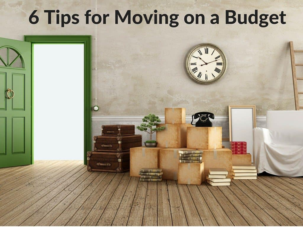 6 Tips for Moving on a Budget