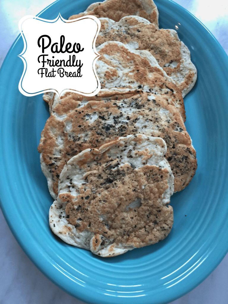 Paleo Friendly Flat Bread Gluten Free