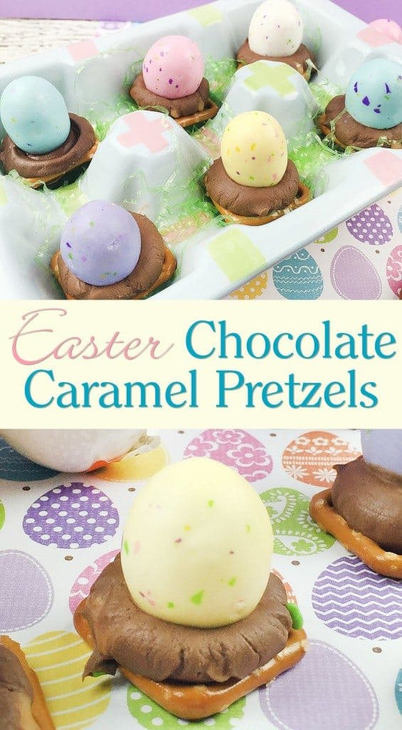 Easter Chocolate Caramel Pretzels Day 4 #12DaysOf Easter - Saving You ...