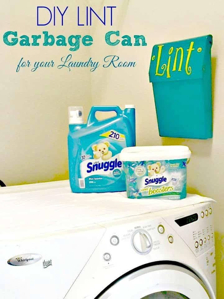 Diy Laundry Trash Can Snuggleupmoments Collectivebias