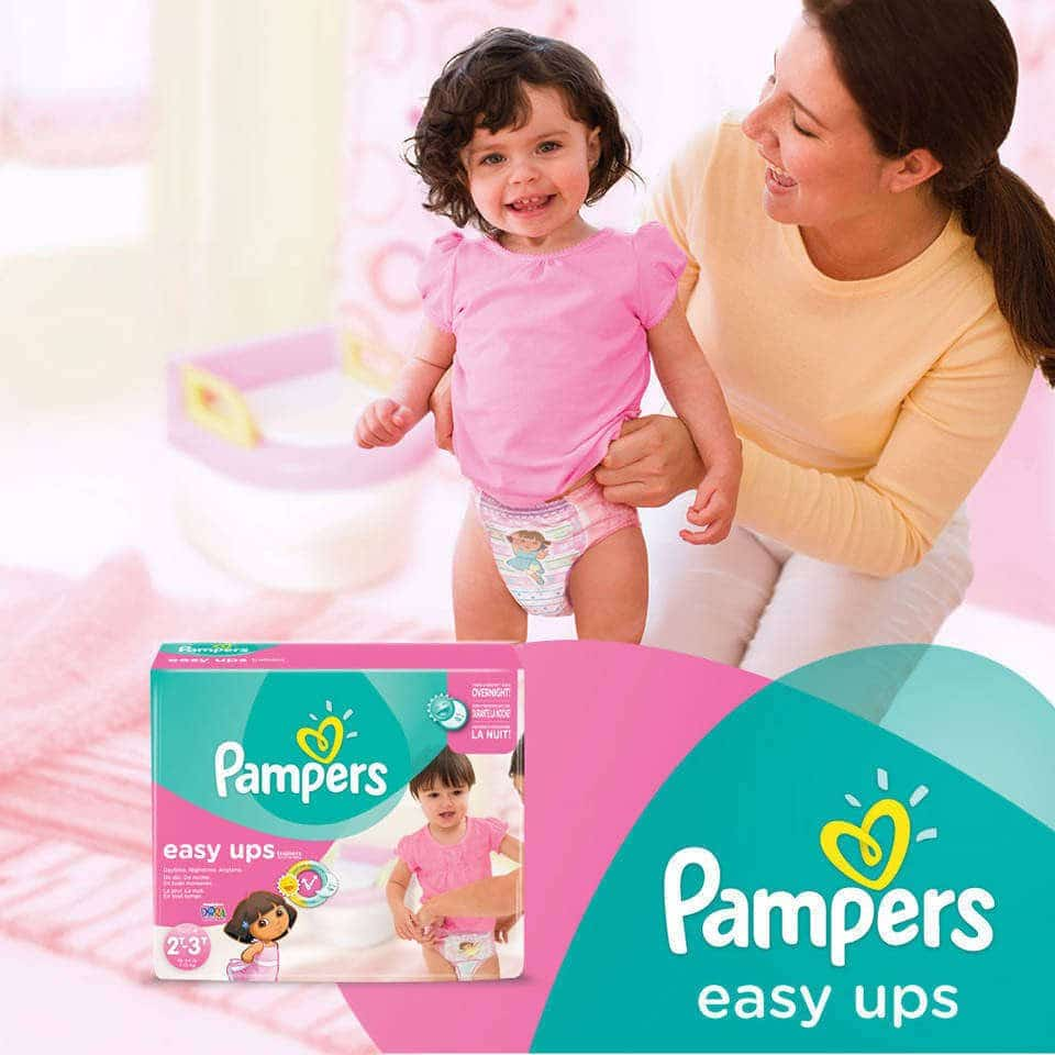 Pampers Easy Ups Training Underwear or UnderJams Absorbent Night Wear Bags (excludes travel/trial size) Coupon Codes Explained: S=SmartSource circular; RP=RedPlum, PG=Procter & Gamble, CV=CVS store coupon, WG=Walgreens store coupon book, TG=Target store coupon. Circulars numbered, such .