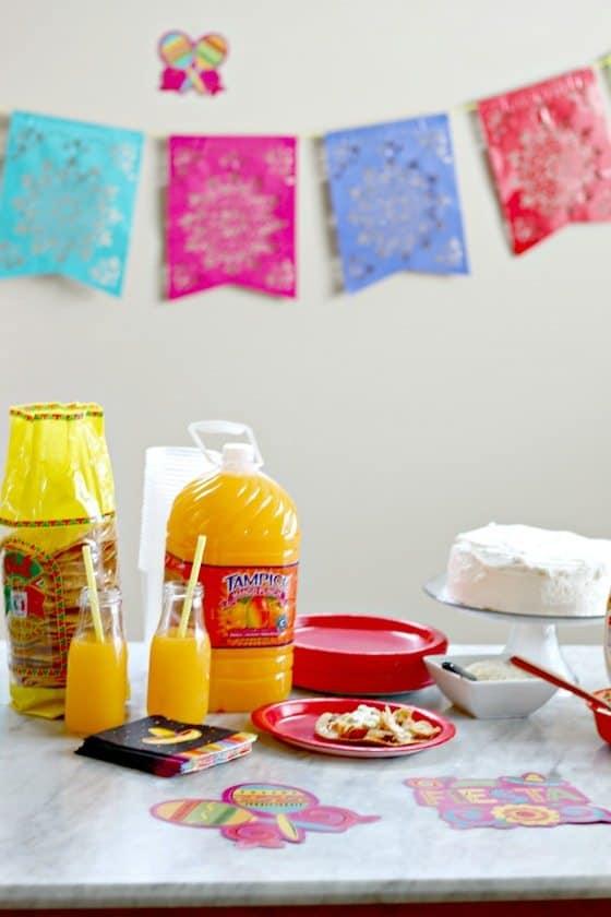 Cinco De Mayo Menu - Tres Leches Cake (Pastel De Tres Leches) #TampicodeMayo #DrinkTampico