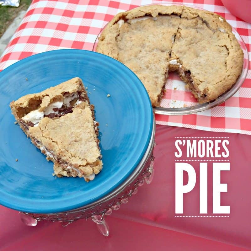 ... make this pie and sit around the fire and enjoy each others company