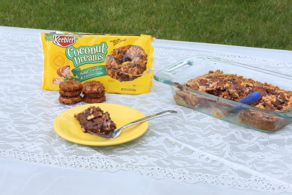 Coconut Dreams Cookie Bars + Giveaway #BiteSizedBitsOfJoy #CollectiveBias