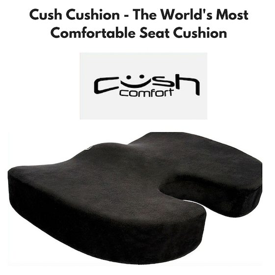 Cush Cushion   The Worldu0027s Most Comfortable Seat Cushion