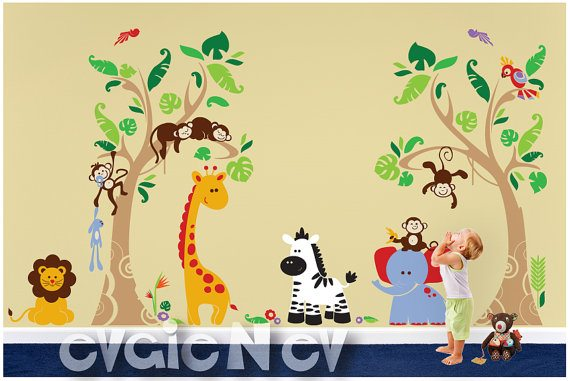 Perfect Here are some of my favorite wall decals Evgie offers