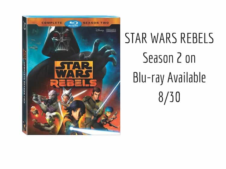 STAR WARS REBELS Season 2 on Blu-ray Available 8%2F31