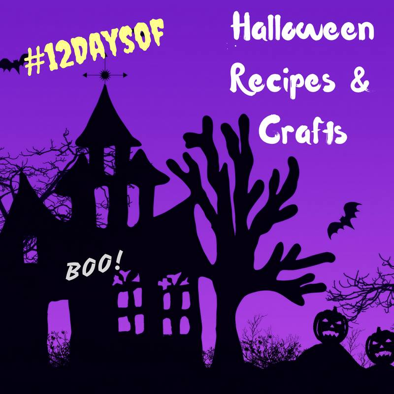 Halloween Candy Cookie Cake ~ #12Days Of Halloween Recipes